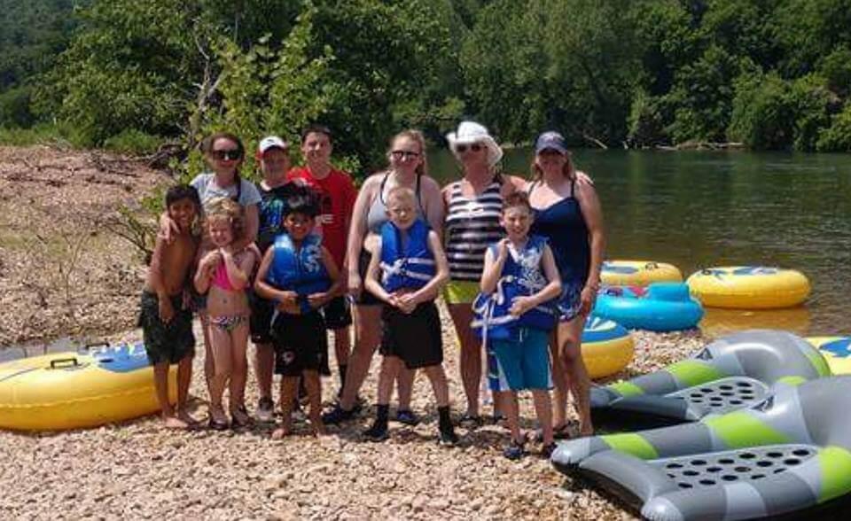 Camp Tomahawk Family Camping Tubing