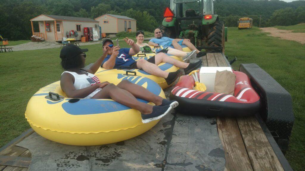 Camp Tomahawk River Canoe Kayak Tube Floating