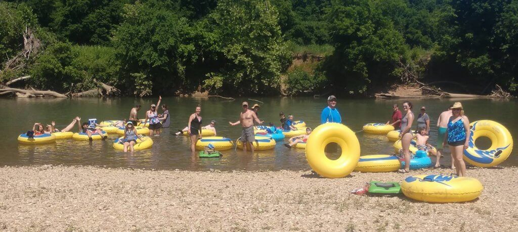 Camp Tomahawk Tube Floating Camping